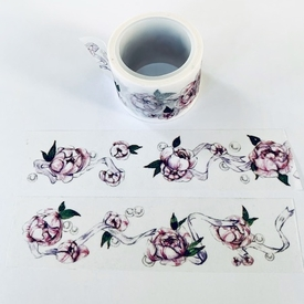 Flowers & Ribbon Washi Tape