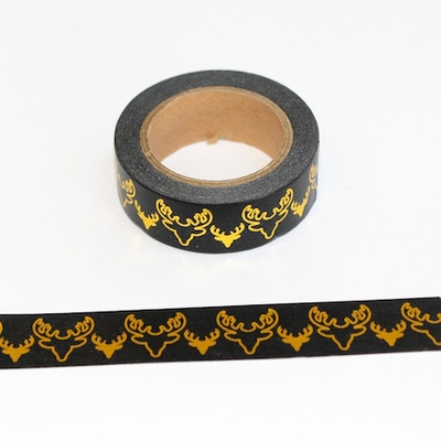 Foil Washi Tape - Deer