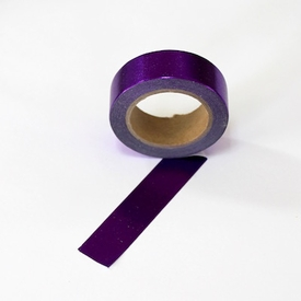 Foil Washi Tape - Purple
