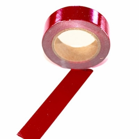 Foil Washi Tape - Red