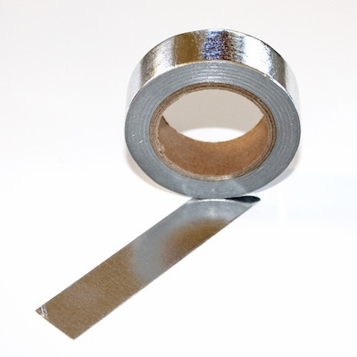 Foil Washi Tape - Silver - Out Of Stock