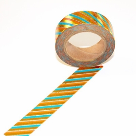 Foil Washi Tape - Stripe