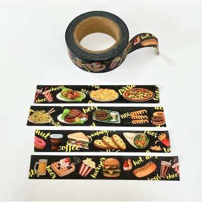 * Food Washi Tape