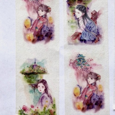 Girl Washi Tape - Vertical - out of stock