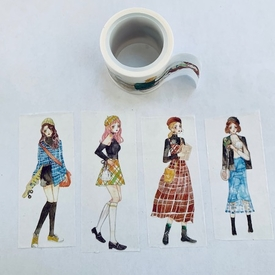 * Girl Washi Tape - Vertical
