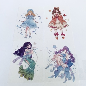 Girls Washi Tape
