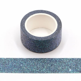 * Glitter Blue Green Washi Tape