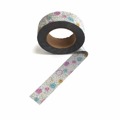 Glitter Dot Washi Tape