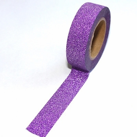 Glitter Purple Washi Tape