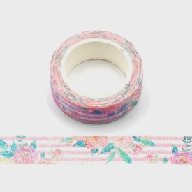Glitter Rose Washi Tape