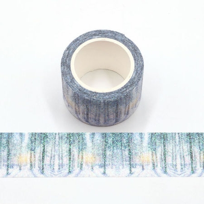 * Glitter Tall Tree Washi Tape - Wide