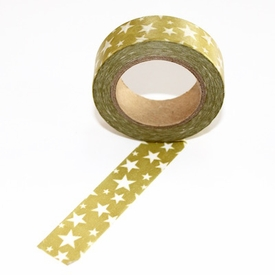 Gold Stars Washi Tape