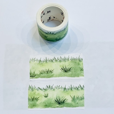 * Grass Washi Tape