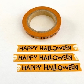 * Happy Halloween Washi tape
