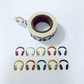 Headphone Washi Tape