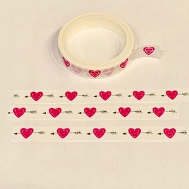 Heart Arrow Washi Tape
