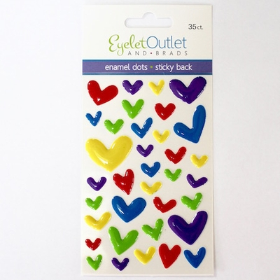 Heart Enamel - Bright