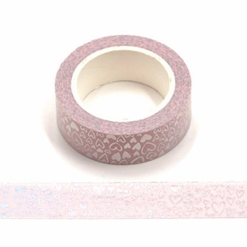 * Heart Foil Washi Tape