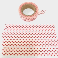 * Heart Washi Tape