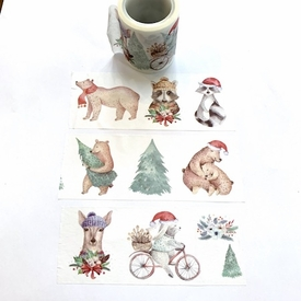 * Holiday Animal Washi Tape