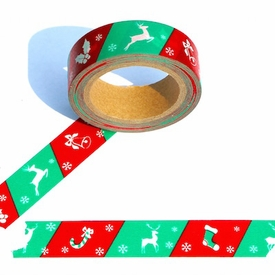 Holiday Print Washi Tape