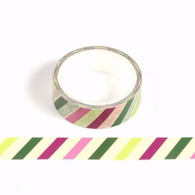 * Holiday Stripe Washi Tape