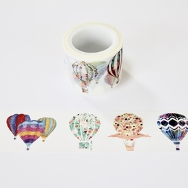 Hot Air Balloon Washi Tape - Wide