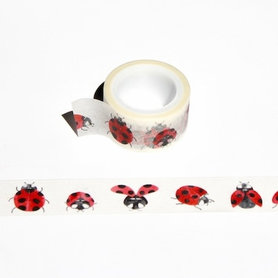 Lady Bug Washi Tape - out of stock