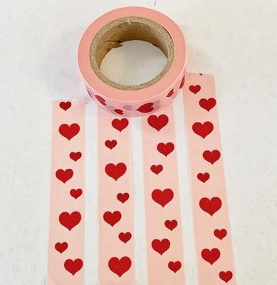 * Heart Washi Tape - Vertical