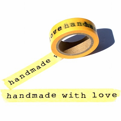 Made With Love Washi Tape - out of stock