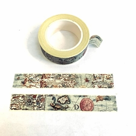 * Map Washi Tape
