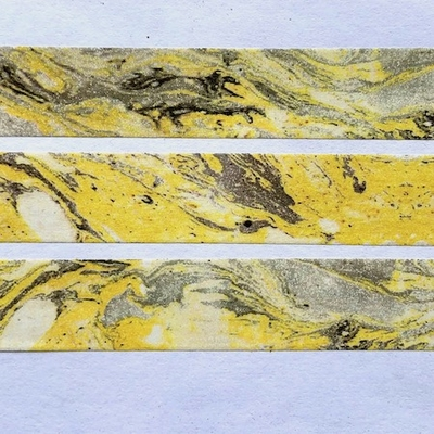 Marble Washi Tape - Yellow