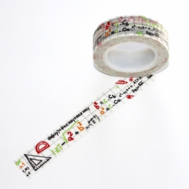 Math Washi Tape - Colored