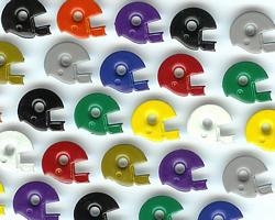Football Helmet Eyelets - Mixed Colors