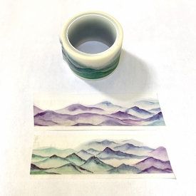 Mountain Range Washi Tape