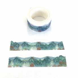 Mountain Washi Tape - Glitter