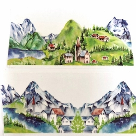 Mountain Washi Tape - Wide