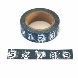 Number Washi Tape