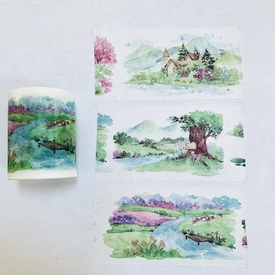 Wooded Acres Washi Tape