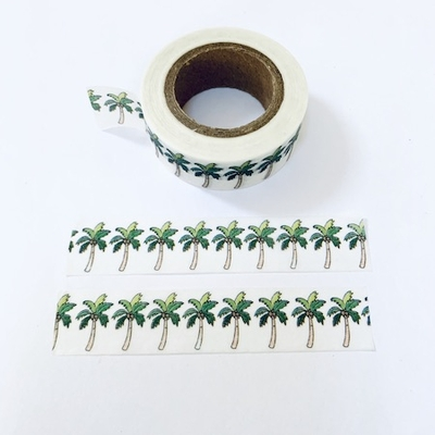 Palm Tree Washi Tape