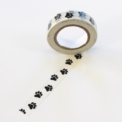 Paw Washi Tape - Thin - out of stock