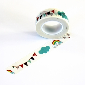 Pennant/Rainbow Washi Tape