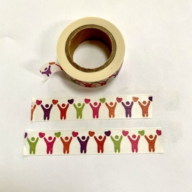 People United Washi Tape