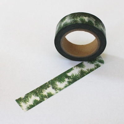 Pine Tree Washi Tape