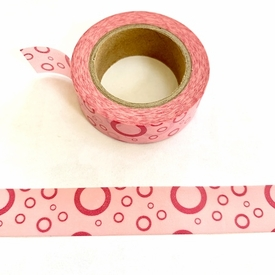 Pink Dot Wash Tape