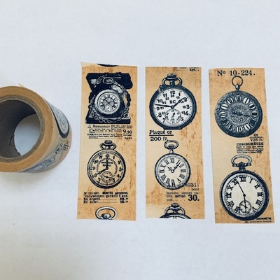 Pocket Watch Washi Tape
