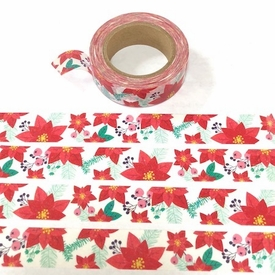 Poinsettia Washi Tape
