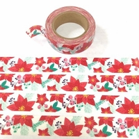 * Poinsettia Washi Tape