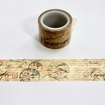 Postage Washi Tape - Wide - Out Of Stock