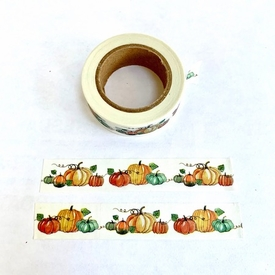 * Pumpkin Washi Tape